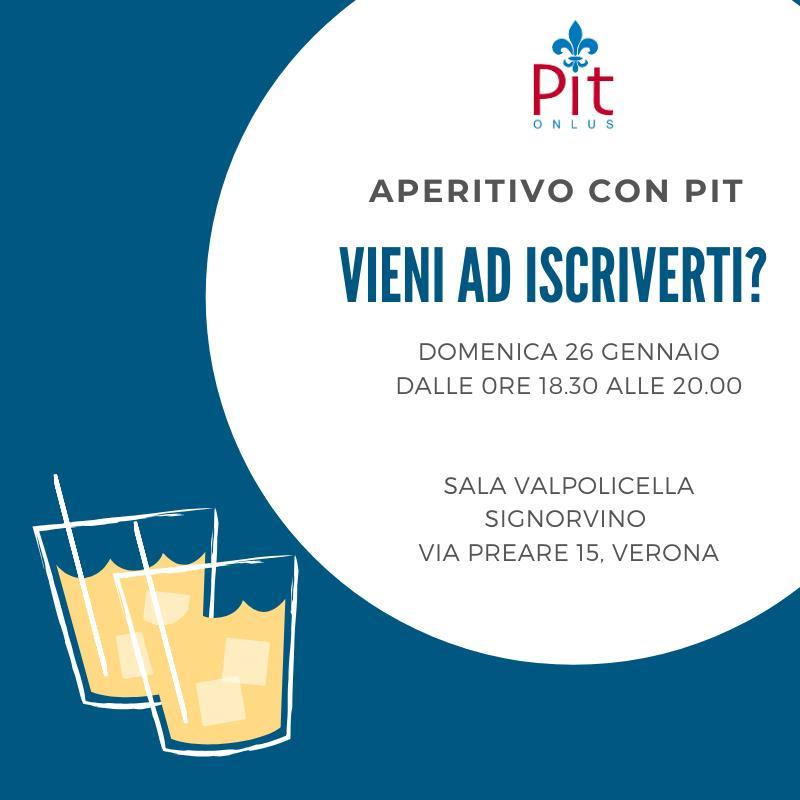 aperitivo PIT onlus 2020